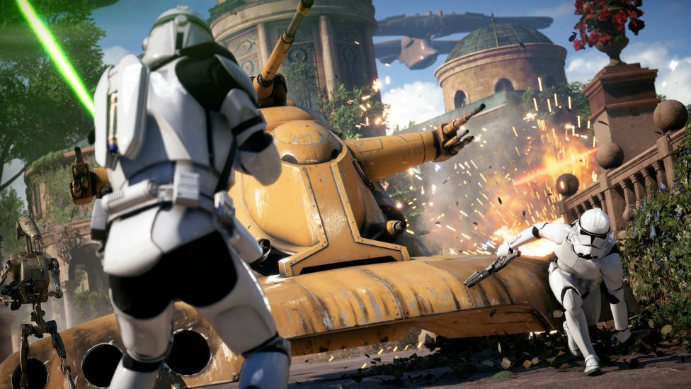 Star Wars Battlefront II en Naboo - Disney Expo - Novedades de Spiderman, Star Wars Battlefront y Kingdom Hearts
