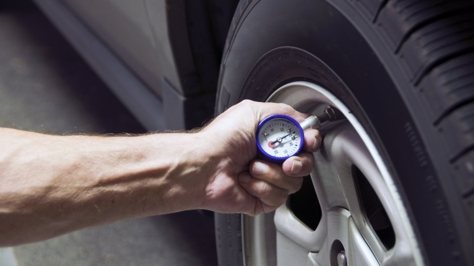 Tire Pressure - Don't Discount Safe Driving This Summer