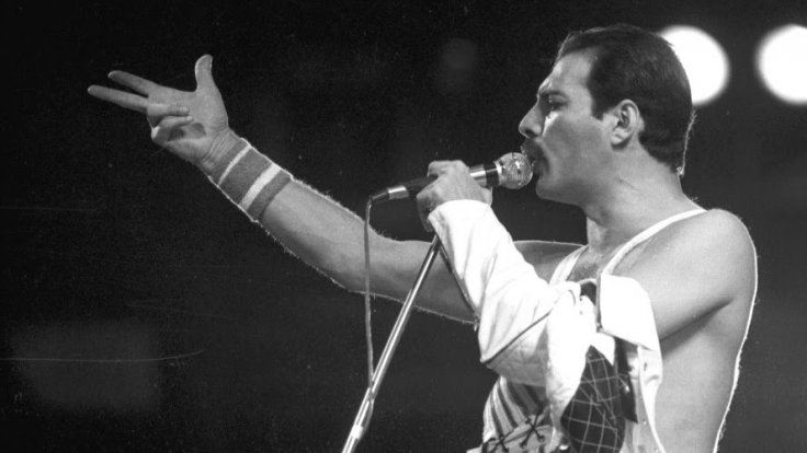 Freddie Mercury en Rock in Rio en 1985