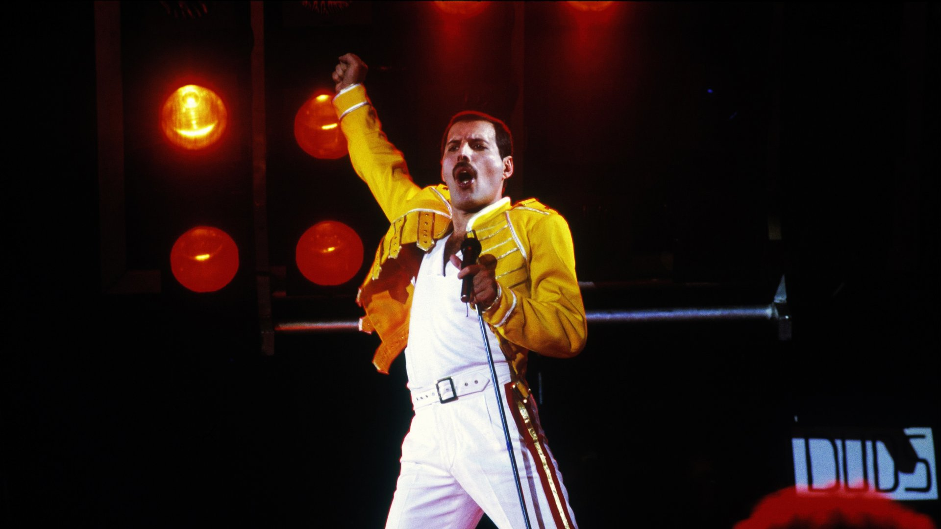 Freddie Mercury en el Magic Tour
