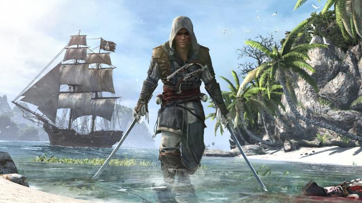 An image from AC IV Black Flag: Possible game in PS Plus October 2017