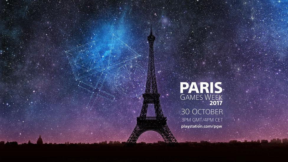 Imagen promocional de la conferencia de Sony Playstation en la Paris Game Week