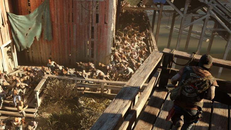 Una imagen de Days Gone, exclusivo de Playstation 4