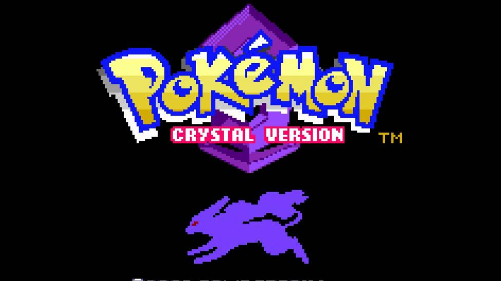 Logotipo de Pokemon Crystal en Game Boy Color - Anunciado Pokémon Crystal para Nintendo 3DS