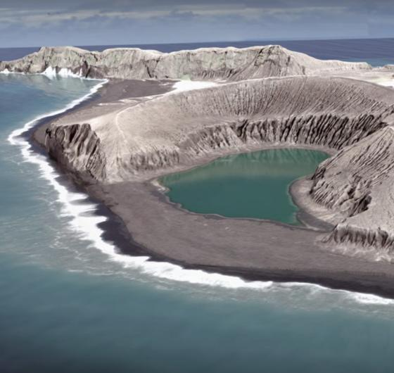 Huna Tonga, la misteriosa isla volcánica - The Island that Appeared in the Ocean and Still Stands