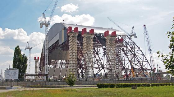 Chernobyl Sarcophagus Final Set Up Gets Delayed