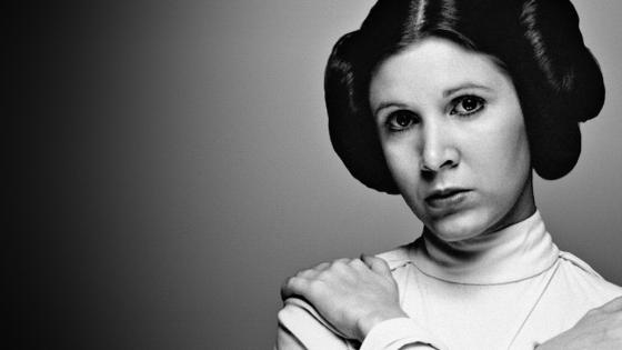 Un año sin Carrie Fisher, la irrepetible princesa Leia