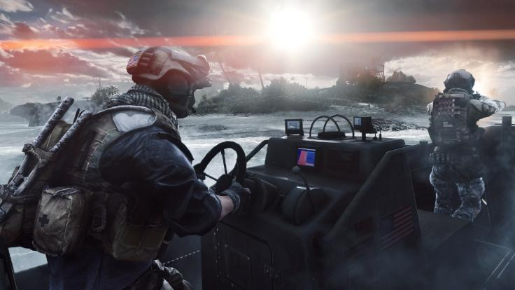 An image from the Battlefield 4 campaign mode