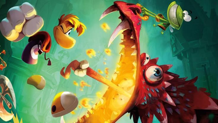Cover image from Rayman Legends