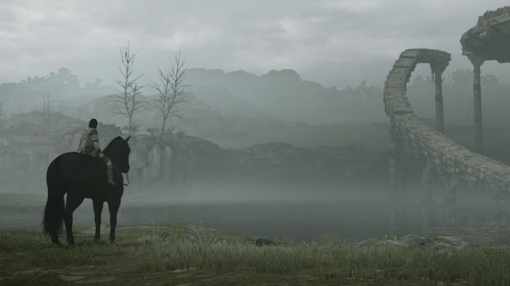 Una imagen del remake de Shadow of the Colossus