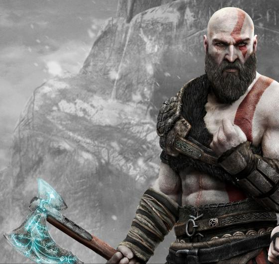 Kratos en God of War para PS4 - GAME sorteará una figura de Kratos de 45 cm de altura