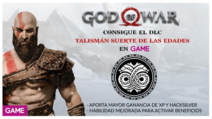Promoción en GAME por la compra de God of War
