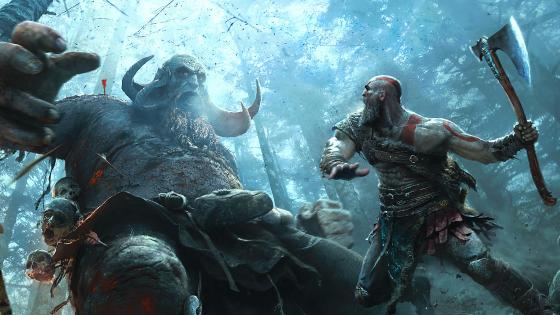 Una imagen de Kratos y Atreus en God of War exclusivo para PS4 - El modo foto de God of War llegará con una actualización