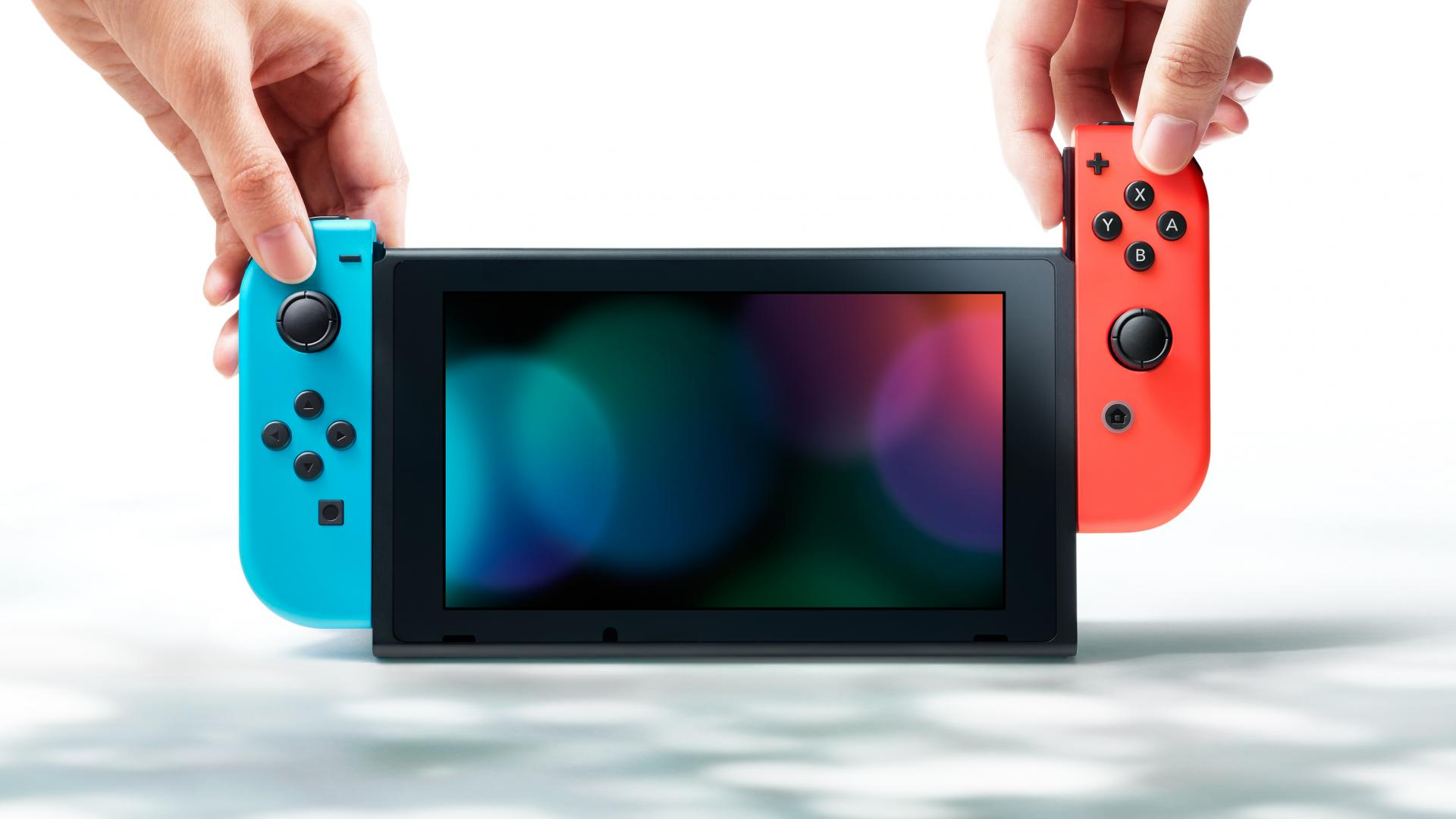 Nintendo Switch con Joycons