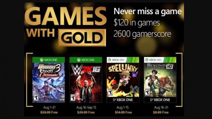 Revelados los Games With Gold de junio 2018