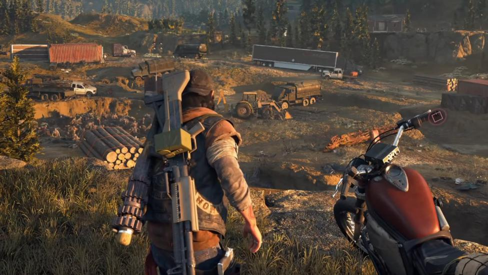 Days Gone trailer de su gameplay - Days Gone Trailer, another PS4 exclusive