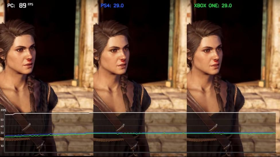 Comparativa Assasins Creed Odyssey PS4, Xbox One y PC - Comparan Assasins Creed Odyssey en PS4, Xbox One y PC