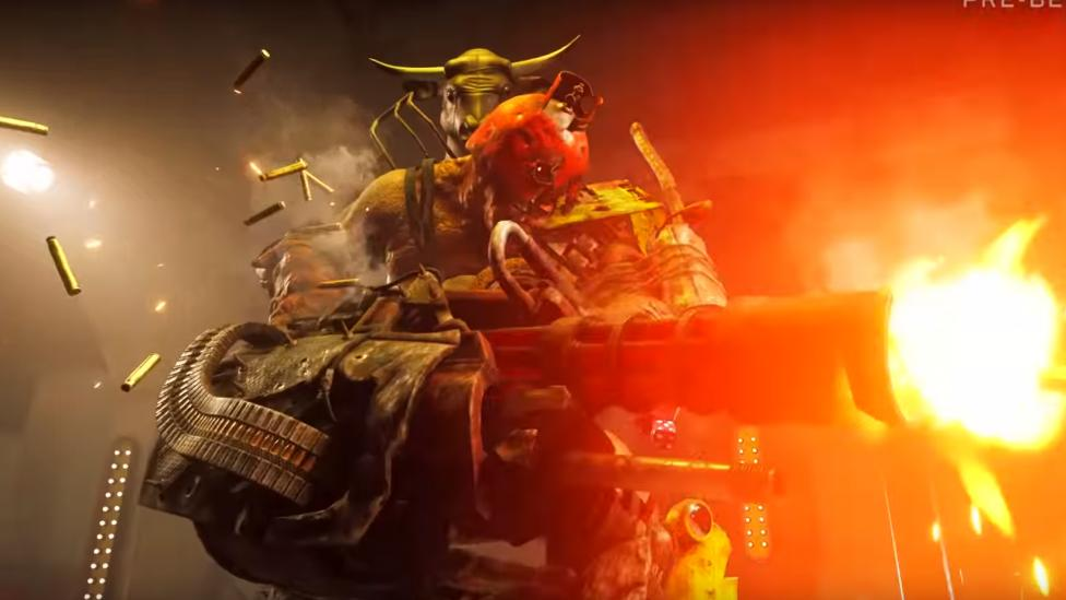 Uno de los bosses de Rage 2 - Rage 2 Update: a new gameplay video with 15 minutes of content