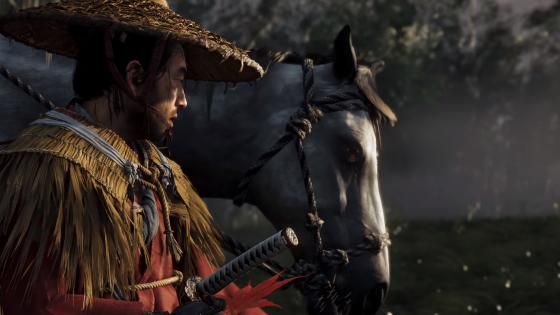 Caballos en Ghost of Tsushima