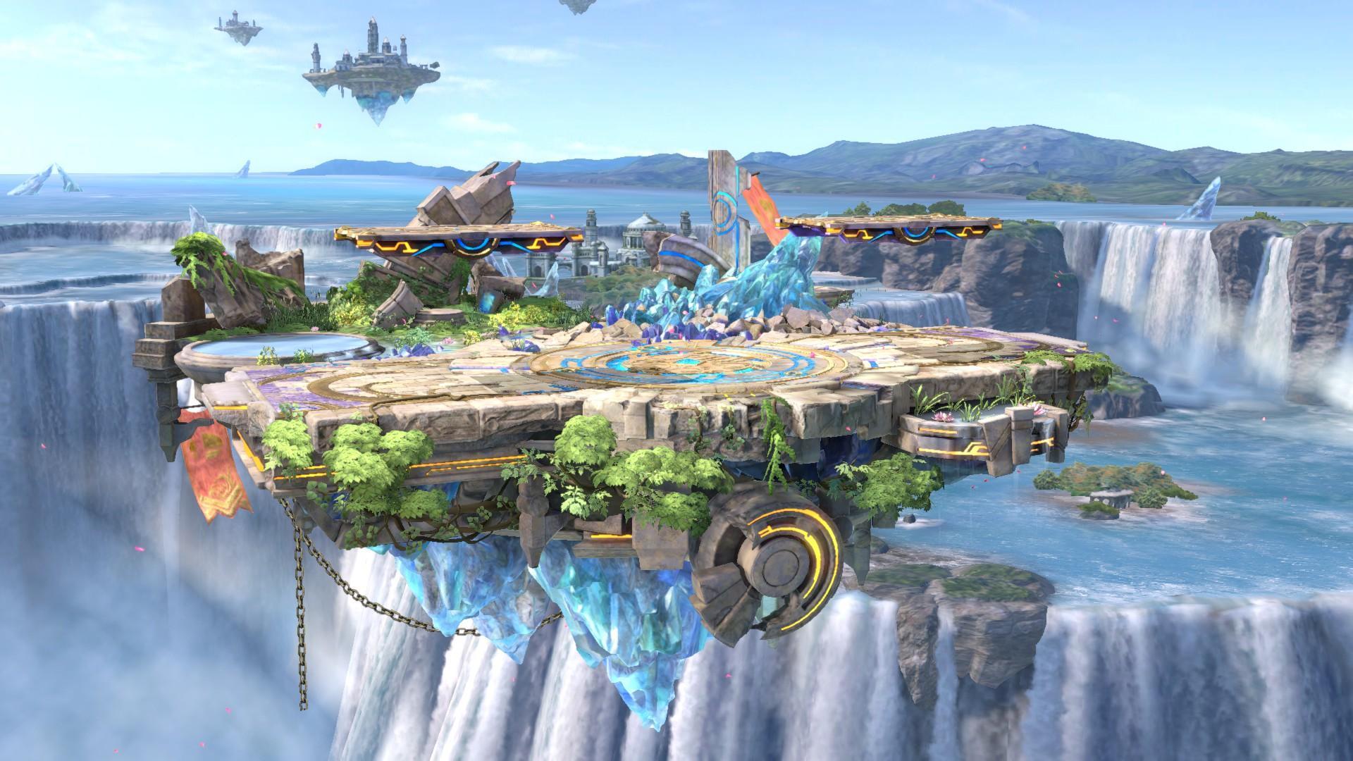 Actualización de Super Smash Bros. Ultimate añade nuevo escenario